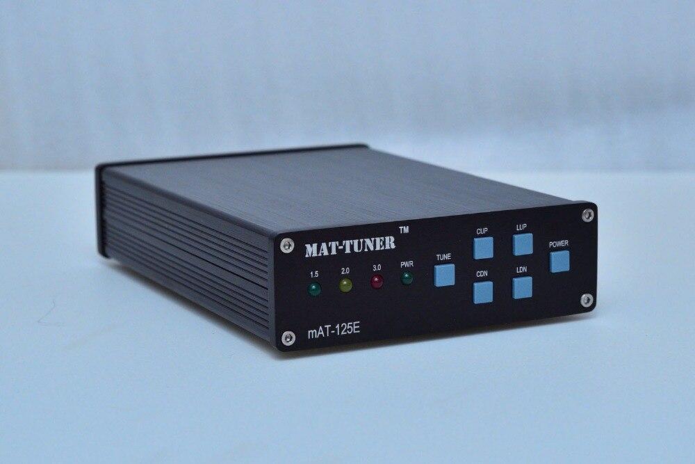 2018 nouvelle version de maintien magnétique mAT-125E mAT125E HF Auto-tuner 120 W AUTO TUNER antenne automatique Radio jambon