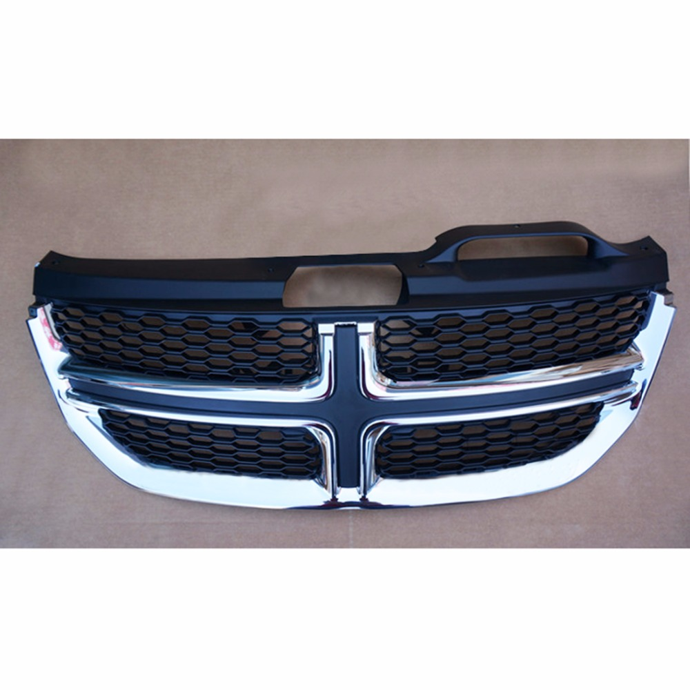 New ABS Front Centre Grille Mesh Grill Cover For Dodge ...