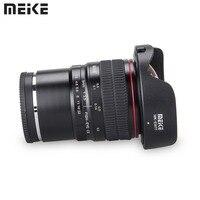 "Meike 8 מ""מ f/3.5 רחב זווית עין דג עדשת מצלמה עדשות עבור Sony A6000 אלפא Nex E ראי  הר מצלמה עם APS C-בעדשות למצלמה מתוך מוצרי אלקטרוניקה לצרכנים באתר"