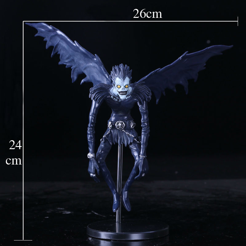 2017 New Death Note L Ryuuku Ryuk PVC Action Figure Anime Collection Model Toy Dolls 24CM sosw fashion anime theme death note cosplay notebook new school large writing journal 20 5cm 14 5cm