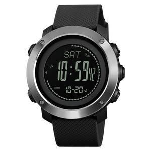 Image 4 - SKMEI חיצוני ספורט שעונים אופנה מצפן מד גובה ברומטר מדחום דיגיטלי שעון גברים טיולים שעוני יד relogio
