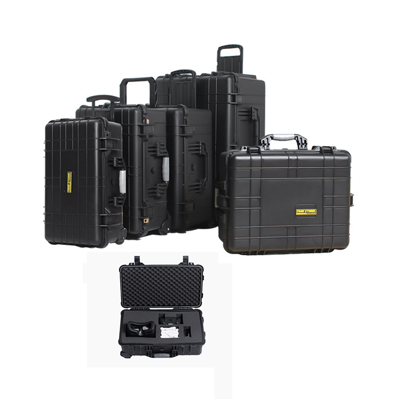 18.7inch Toolbox Trolley Case Instrument Box Strengthen Impacted Resistance Waterproof Shockproof Sealed Safety Box High Quality|Tool Cases| |  - title=