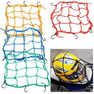 6 Hooks Motorcycle Luggage Net