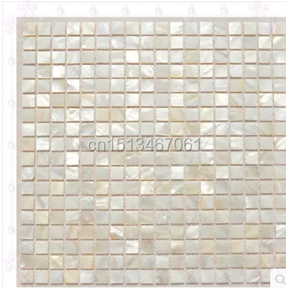 square sea shell mosaic mother of pearl kitchen floor