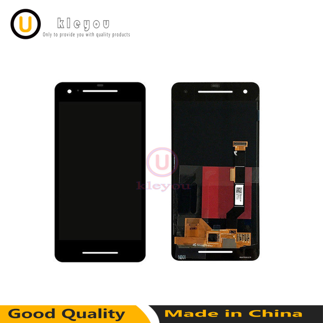 100% Tested working Black For HTC Google s2 Pixel 2 LCD Display Touch Screen Digitizer For HTC Google Pixel 2 LCD Replacement