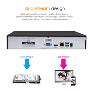 Image 4 - VStarcam 1080P NVR With HDD 4CH 8CH Network Video Recorder Resolution 1920x1080 Onvif 2.4 Best for Vstarcam Wifi IP Camera