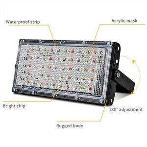Image 2 - Led Flutlicht 50W Spotlight Park Beleuchtung Outdoor Led straßenleuchte AC 220V 240V Wasserdichte IP65