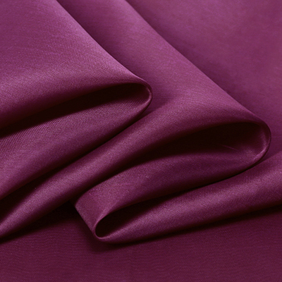 buy 140cm wide 14mm grape purple solid color silk organza fabric for dress shirt clothes bubble dress sun protective clothing from reliable