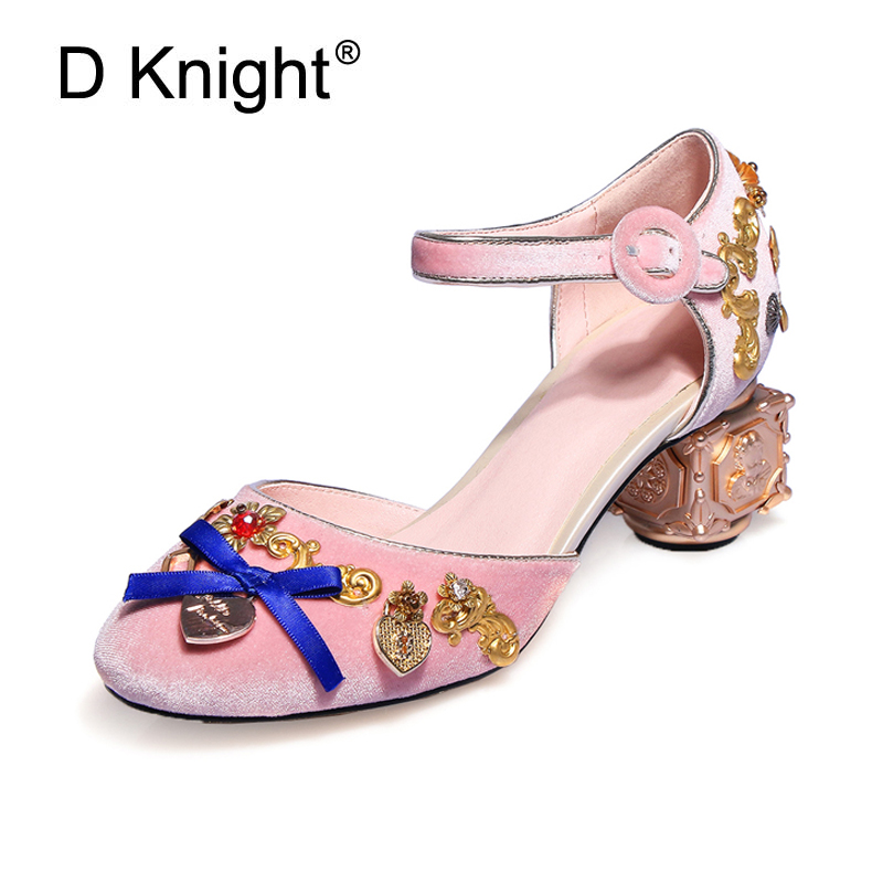New Fashion Crystal Sandals Pumps Shoes Women Sweet Luxury Female Platform Bride Shoes Ankle Strap Lady Wedding Shoes High Heels super high ladies sweet sexy summer butterfly crystal high heels sandals women platform ankle strap shoes purple wedding shoes