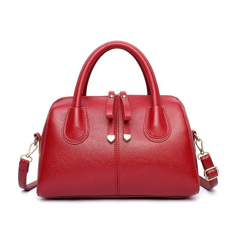 ФОТО 2017 Brand Top-Handle Bags Women's Handbags Pillow Luxury Women Bags Shoulder Bag Ladies Sprint Leather Hand Bag Bolsos Mujer