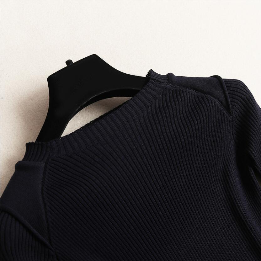 Luxe Noir Drapée Distributeur 2019 Demi Printemps En Bagage Piste Soie Nourriture Design Robe Tricot Automne Nouvelle De Étiquettes Mousseline Patchwork T4wqHSn1F