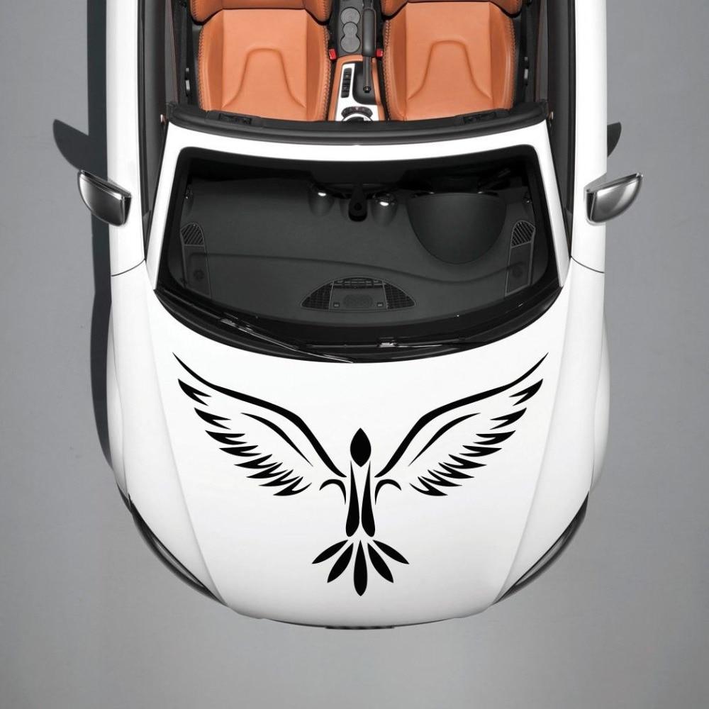 Car decals and graphics design - Car Hood Vinyl Decal Graphics Stickers Art Murals Design Phoenix Bird Tattoo China Mainland