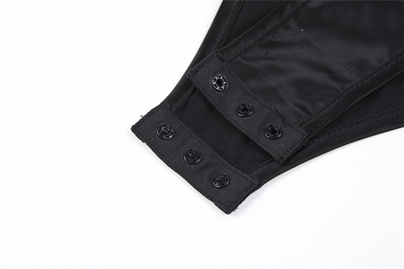 v neck bodysuit female20