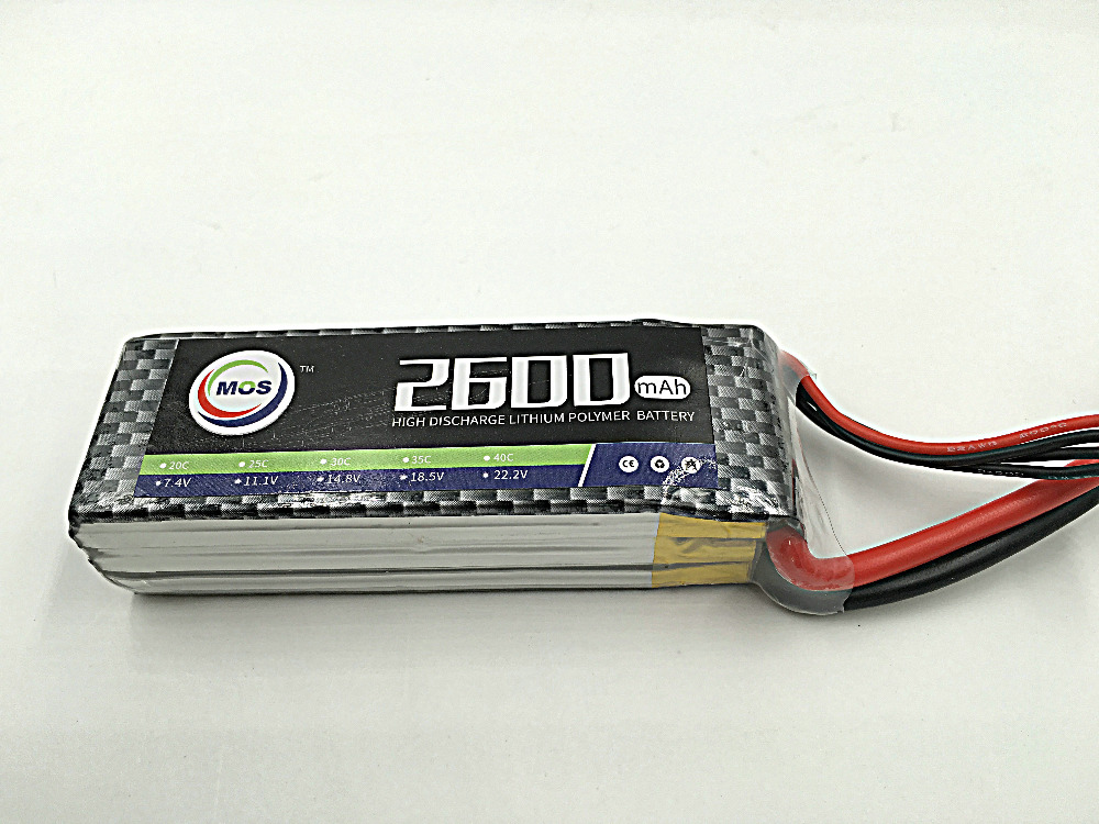 MOS 3S lipo battery 11.1v 2600mAh 30C For rc helicopter rc car rc boat quadcopter Li-Polymer battey