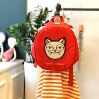 BOBOZONE 2018 CAT tag Backpack for kids girls