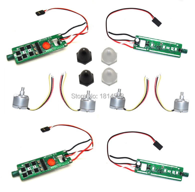 Cheerson CX 20 CX20 CX-20 brushless axis aerial vehicle parts ESC 4PSC 2212 920KV brushless motor motor run 4PCS 4PCS f09166 10 10pcs cx 20 007 receiver board for cheerson cx 20 cx20 rc quadcopter parts