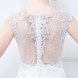 Image 4 - Wuzhiyi ชุดเดรสเมอร์เมดลูกไม้ชุดเดรสชุดเจ้าสาวพลัสขนาด vestidos de noiva จีนงานแต่งงาน 2018