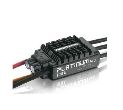 Hobbywing Platinum V3 100A Built in BEC Speed Controller 2-6S Lipo Brushless ESC for RC Drone Helicopter Aircraft F17833 hobbywing platinum series v4 160a brushless electric speed controller esc for aircrafts high voltage esc