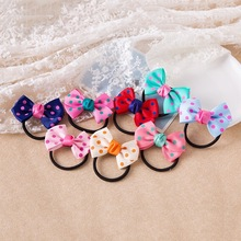 Handmade Children Hair Rope Cute Animals Ornaments Baby Elastic Bands Princess Girls Jewelry Ring for babies girls