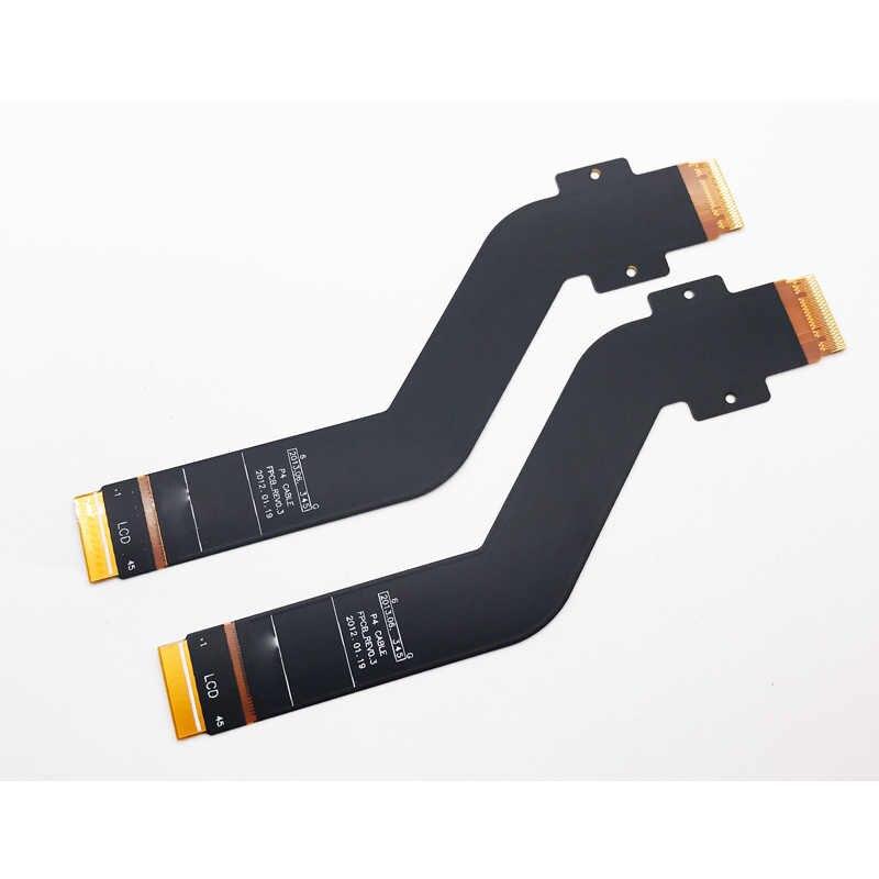 اختبار الأصلي شاشة lcd موصل فليكس أجزاء اللوحة لسامسونج جالاكسي تاب 2 10.1 p5100 p5110 p7510 p7500 n8000