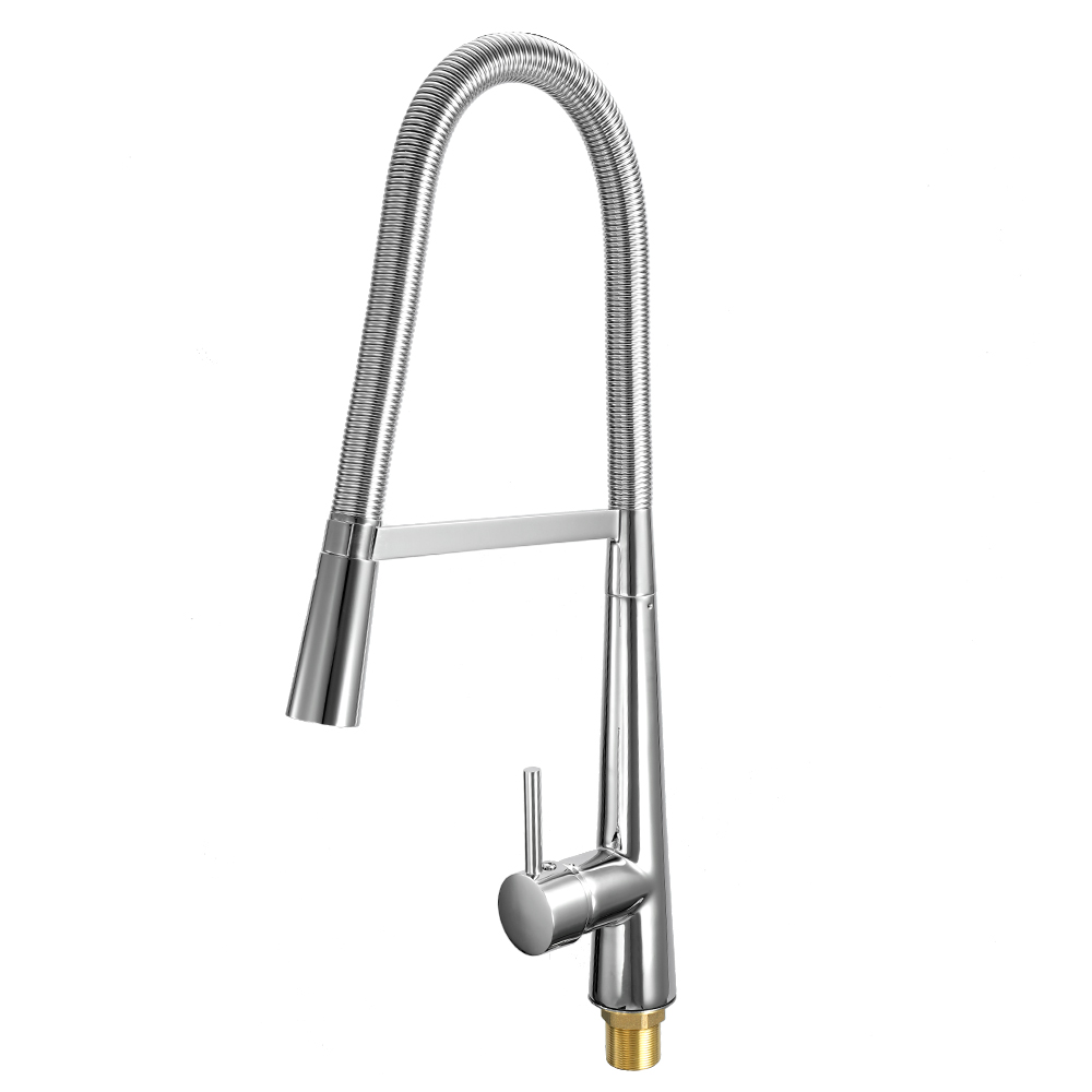 European-style kitchen faucet mixer Pull Out ORB Single Connection Kitchen Tap Stud Installation Rotatable Sink Water Faucet newly arrived pull out kitchen faucet gold sink mixer tap 360 degree rotation torneira cozinha mixer taps kitchen tap