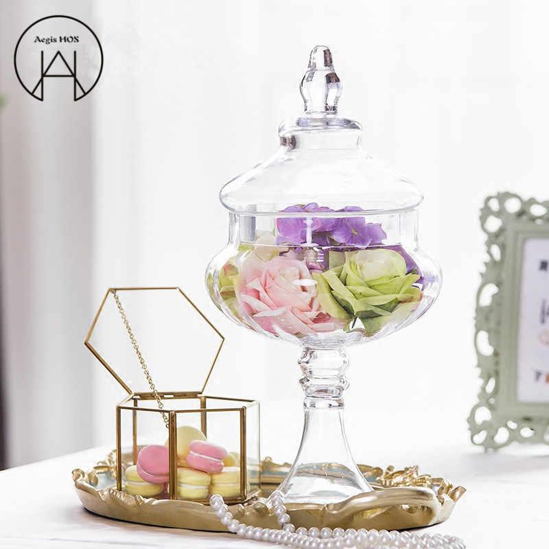 Pumpkin Glass Jars High Quality Candy Jar Food With Lid Storage