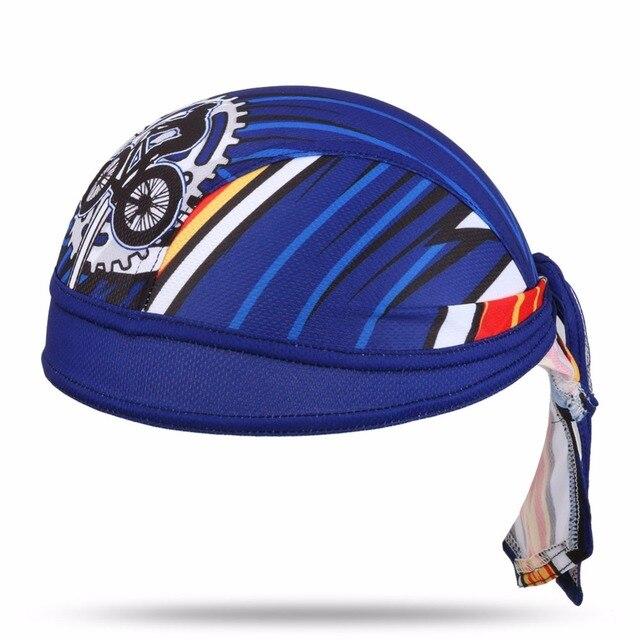 XINTOWN New Reflect UV Men Cycling Cap Sweatproof Riding Hat Outdoor Bike  Bicycle Sports Pirate Bandana 127c281e7323