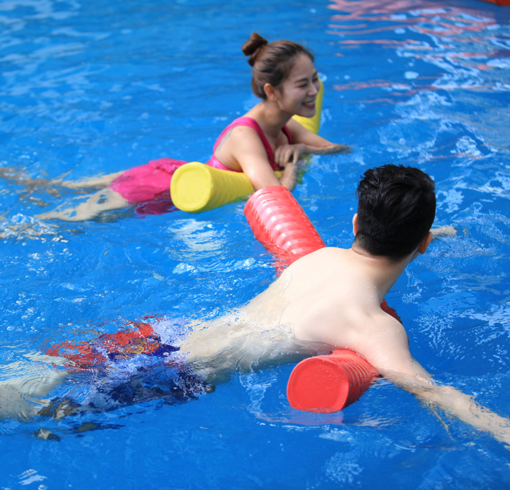 US $43.99  Phiihp 2pcs/ lot NBR foam swimming pool float toys pool noodle  for swimming aid-in Pool & Accessories from Sports & Entertainment on ...