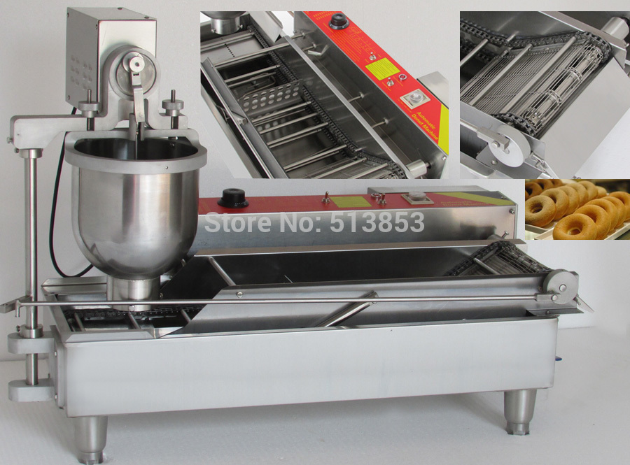 Automatic commercial donut frying machines; donut making machine
