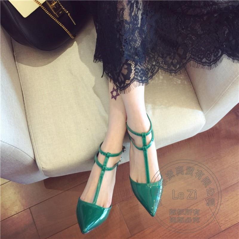 Plain Plateau Heel Shoe Winkle Picker Metal Heel Stiletto Shoes 2016 Pu Pointy Shoes For font