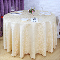 2016 Hot Sale Europe Table Cloth Round Solid Home Hotel Decoration Hotel Home Restaurant Table Cover