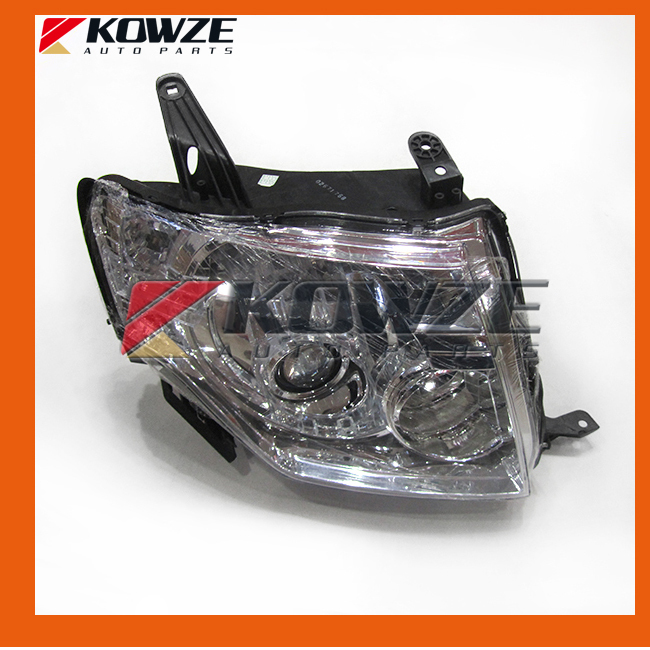 Head Lamp Light Headlamp HID For Mitsubishi Pajero Mottero Shogun 4 IV 2007-2015 LHD head lamp
