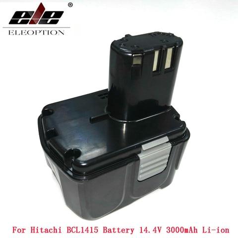 para Bateria Li-ion Bateria para Hitachi Bcl1415 Cj14dl Dh14dl Ebl1430 Bcl1430 14.4 Mah 3000 v