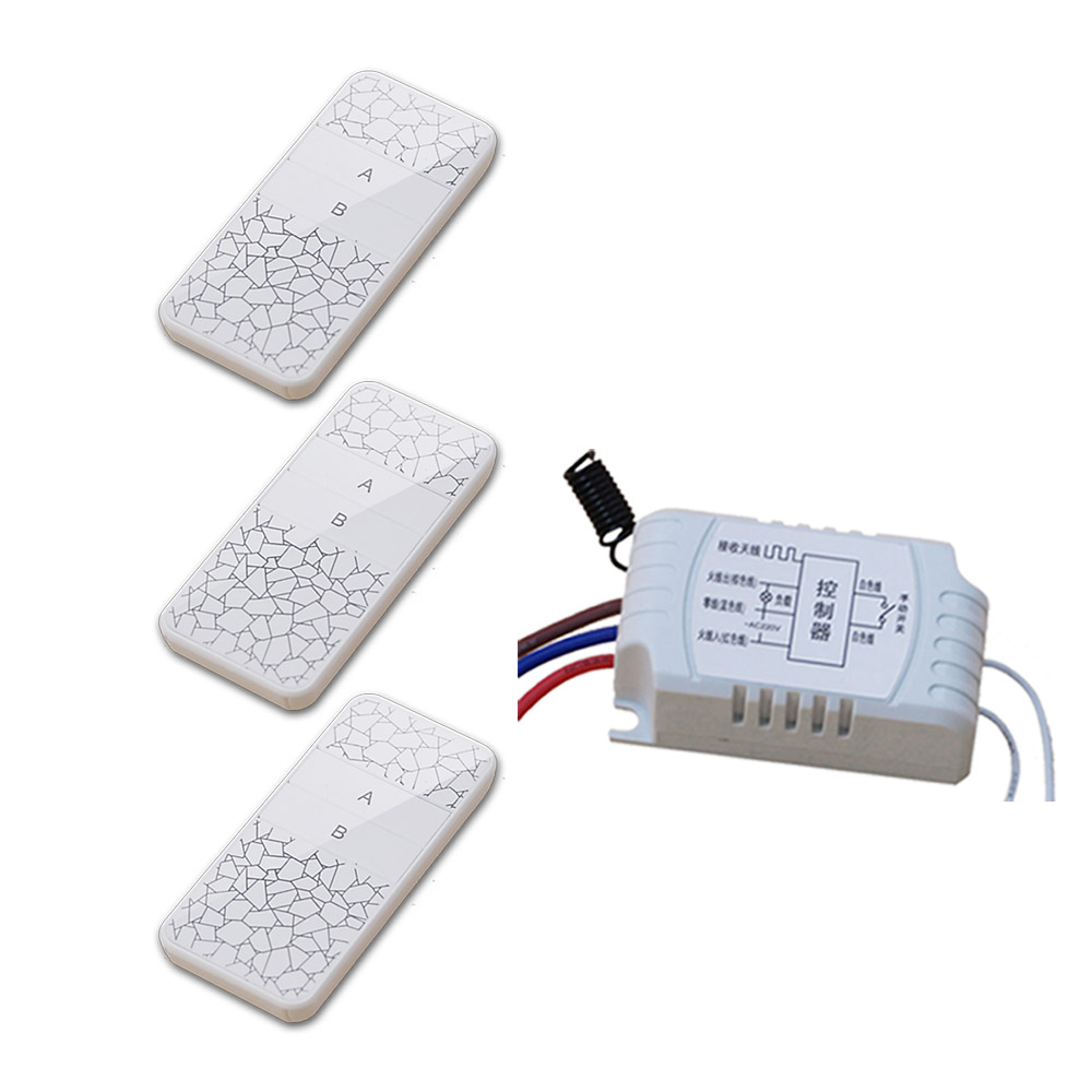 New Design Wireless 2CH AC220V Remote Control Switch with Manual Button + Receiver for Smart Home Free Shipping new design wireless ac220v remote control switch with manual button receiver for smart home 315 433mhz free shipping