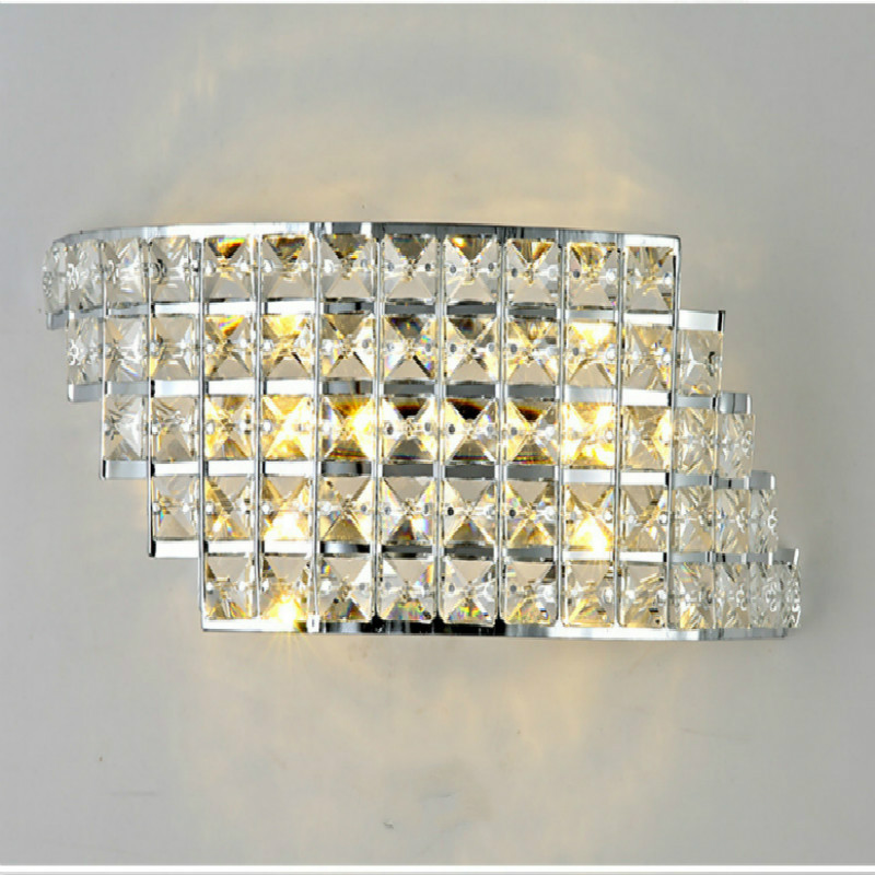 Wall Sconce Modern LED Crystal Wall Lamp For Home Lighting Wall Sconce Arandela Lamparas De Pared Luminarias De Interior led wall sconce simple modern artistic led wall lamp for home lighting arandela lampara de pared