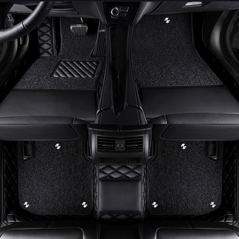 Custom logo car floor mats for mazda cx 5 3 Axela 2 5 6 8 CX