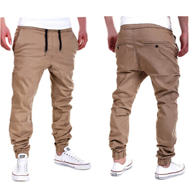 2017 Fashion Warm Sweatpants Sportswear Trousers Joggers Pants Slim Legs Sweat Pants Clothing Male Trousers Pantalon Joggers Men