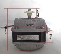 220V 60W refrigeration shaded pole fan motor 1300rpm