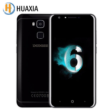 Doogee Y6 Piano Black 5.5″ 4GB RAM 64GB ROM MT6750 Octa Core Android 6.0 Fingerprint Smartphone 3200mAh 13MP Mobile Cell Phone