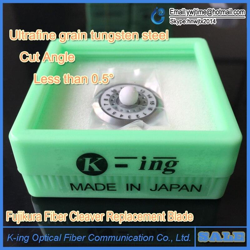 Terno novo Fujikura CT-20/Cortador De Fibra Cutelo CT-30 Optical Splicer Máquina de Corte Da Lâmina de Corte Faca Roda De Ferramentas de FTTH