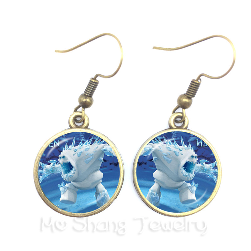 Snow Queen Diamontrigue Jewelry: 2018 New Marshmallow Drop Earrings Jewelry Crystal