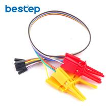 Test Hook Clip Logic Analyzer Test Folder For USB Saleae 24M 8CH(China)