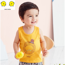 Childrens new style childrens waistcoat summer pure cotton baby infant sleeveless boy clothe