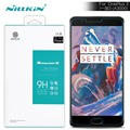 oneplus 3 tempered NILLKIN Amazing H Nanometer Anti-Explosion 9H Tempered Glass oneplus3 Front Protector pro Film for oneplus 3t