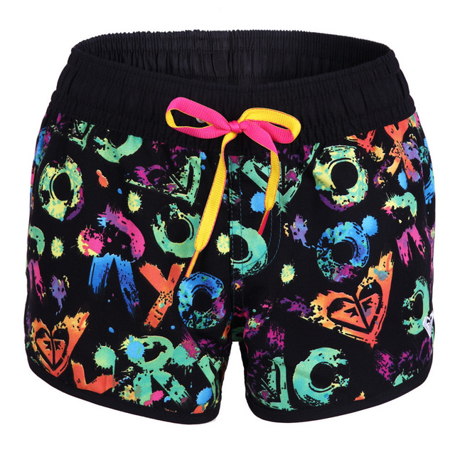 2a6d776e26 Hot Sales Women Surf Board Shorts Swimwears Beach Swimming Wear Girls Quick  Dry Polyester Floral Printed Pattern Size S/M/L 489