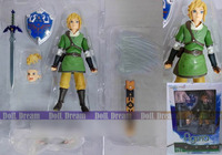 13cm The Legend Of Zelda Link With Skyward Sword Figma 153 PVC Action Figure Collection Model