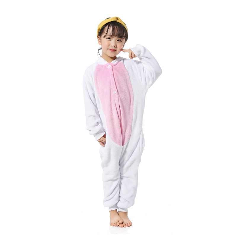 ... Новое животное Золотой Рог Пегас Единорог Pijamas Комбинезоны фланель с  капюшоном дети пижамы для мальчиков и ... 0dd0f7733a348