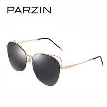 PARZIN Óculos De Sol Dos Homens Clássicos óculos de sol Grande Frame Da  Liga de óculos de Sol Mulheres Lentes de Nylon Ladies Sh.. 94951b770f