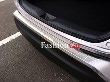 Нержавеющая Сталь Багажник Автомобиля Педали Отделка 1 шт. Для Toyota C-HR 2016 2017 Аксессуары бампер ног пластины Накладка