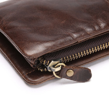 Long Retro Zipper Clutch Wallet